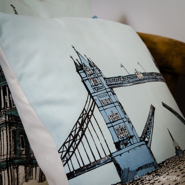Mr Wingate hand printed textiles for your home